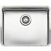 Reginox Kansas 50x40 1.0 Bowl Stainless Steel Kitchen Sink profile small image view 1