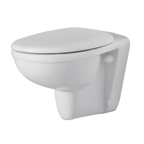 RAK Karla Wall Hung Pan + Soft Close Seat