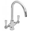 Old London Cruciform Kitchen Sink Mixer Tap - KB314 profile small image view 1