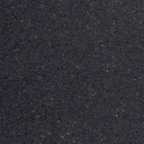 Heritage - 1.4m Left Curved End Black Wrapped Worktop profile large image view 1