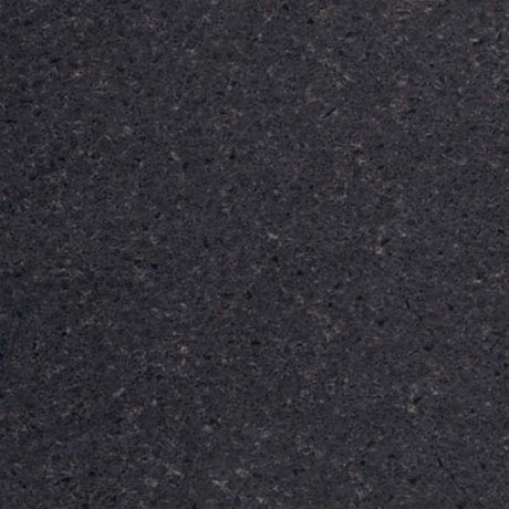 Heritage - 1.4m Left Curved End Black Wrapped Worktop