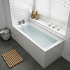 Kent Single Ended Bath + Panels profile small image view 1