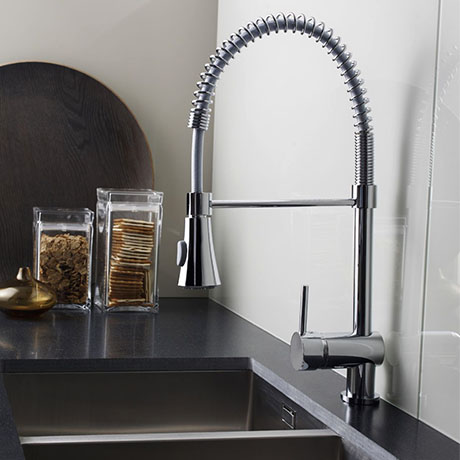 Nuie Kitchen Tap Side Action Pull Out Rinser - KC314