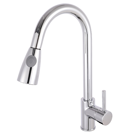 Nuie Side Action Pull Out Rinser Kitchen Tap - KC318
