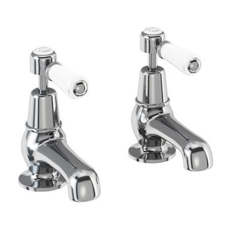 "Burlington Kensington - Chrome Basin Taps 3"" - KE1"