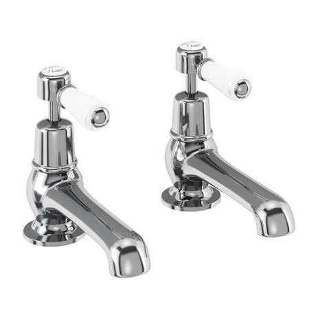 "Burlington Kensington - Chrome Basin Taps 5"" - KE2"