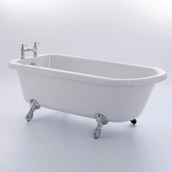 Royce Morgan Lambeth 1665 Luxury Freestanding Bath with Waste profile large image view 1