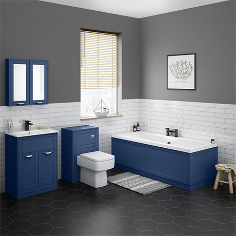 Keswick Blue Bathroom Suite