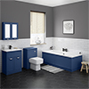 Keswick Blue Bathroom Suite profile small image view 1