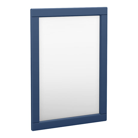 Keswick Blue 500 x 700mm Traditional Wall Hung Framed Mirror