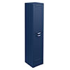Keswick Blue 1400mm Traditional Floorstanding Tall Storage Unit profile small image view 1