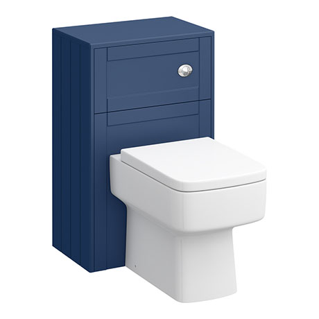 Keswick Blue 500mm Traditional Toilet Unit with Concealed Cistern