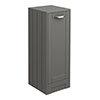 Keswick Grey 300mm Traditional Single Door Storage Unit profile small image view 1