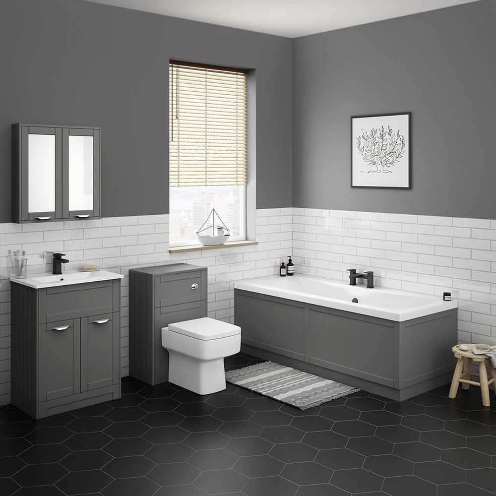 Keswick Grey Bathroom Suite
