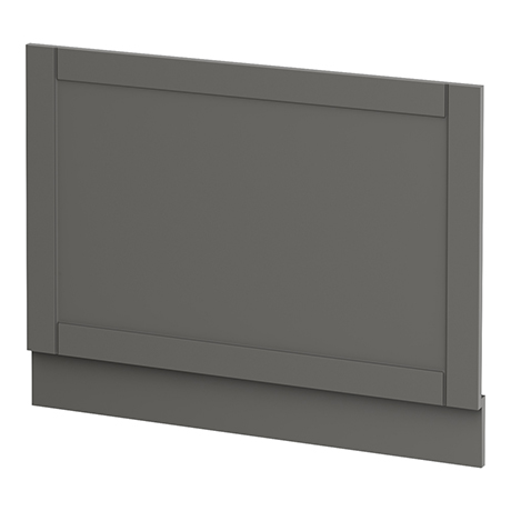 Keswick Grey 700mm Traditional Bath End Panel