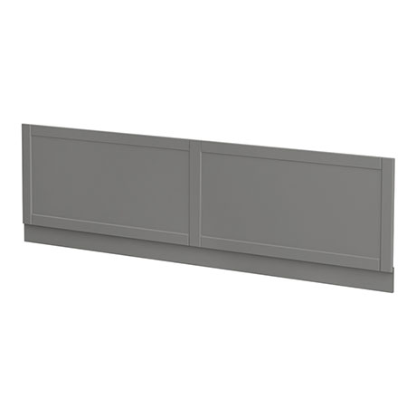 Keswick Grey 1700mm Traditional Bath Front Panel