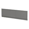 Keswick Grey 1700mm Traditional Bath Front Panel profile small image view 1