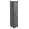 Keswick Grey 1400mm Traditional Floorstanding Tall Storage Unit profile small image view 1