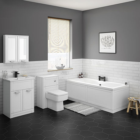 Keswick White Bathroom Suite