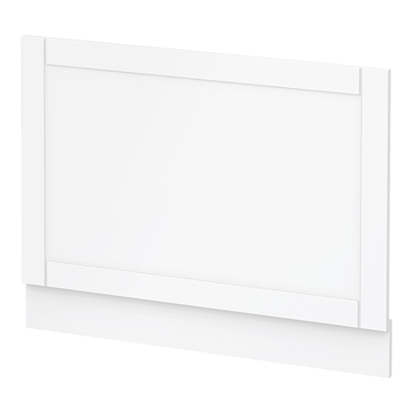 Keswick White 700mm Traditional Bath End Panel
