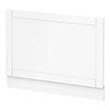 Keswick White 700mm Traditional Bath End Panel profile small image view 1