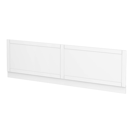 Keswick White 1700mm Traditional Bath Front Panel