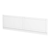 Keswick White 1700mm Traditional Bath Front Panel profile small image view 1