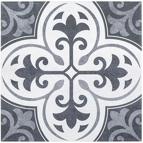 Keswick Blue Patterned Wall & Floor Tiles - 331 x 331mm