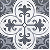 Keswick Blue Patterned Wall & Floor Tiles - 331 x 331mm Small Image