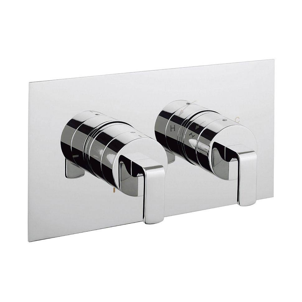 Crosswater KH Zero 1 Thermostatic Shower Valve with 2 Way Diverter - KH01_1501RC Large Image