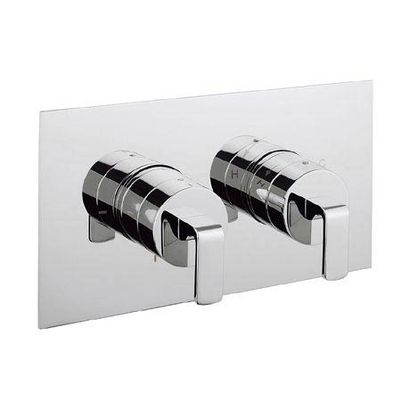 Crosswater KH Zero 1 Thermostatic Shower Valve with 2 Way Diverter - KH01_1501RC