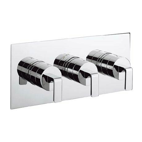 Crosswater KH Zero 1 Thermostatic Shower Valve with 3 Way Diverter - KH01_3001RC