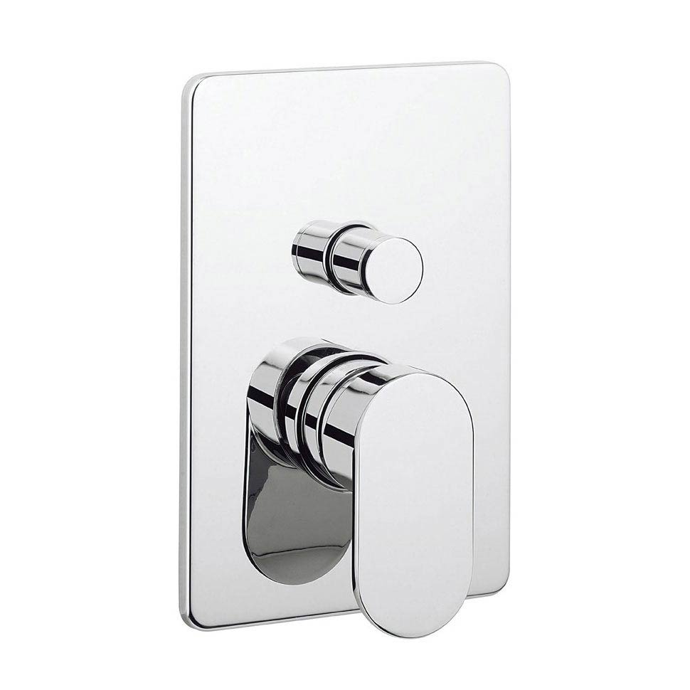 Crosswater KH Zero 2 Concealed Manual Shower Valve with Diverter - KH02_0005RC Large Image