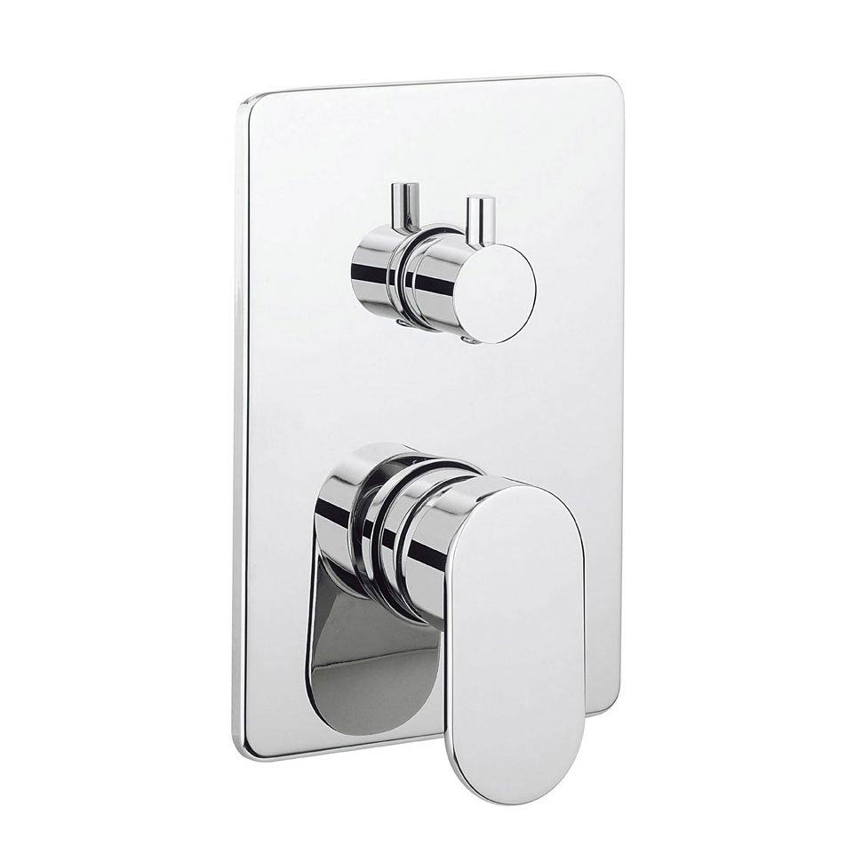 Crosswater KH Zero 2 Concealed Manual Shower Valve with 3 Way Diverter - KH02_0006RC Large Image