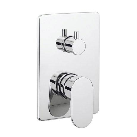 Crosswater KH Zero 2 Concealed Manual Shower Valve with 3 Way Diverter - KH02_0006RC