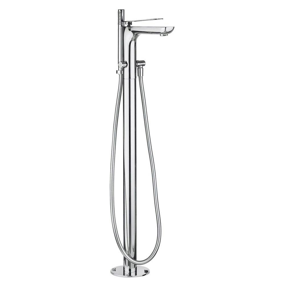 Crosswater KH Zero 2 Floor Mounted Freestanding Bath Shower Mixer - KH02_415FC profile large image view 1
