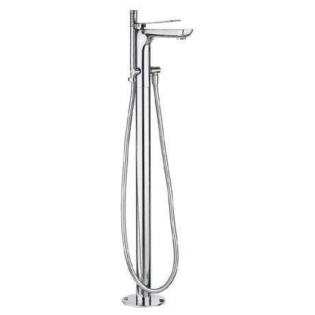 Crosswater KH Zero 2 Floor Mounted Freestanding Bath Shower Mixer - KH02_415FC