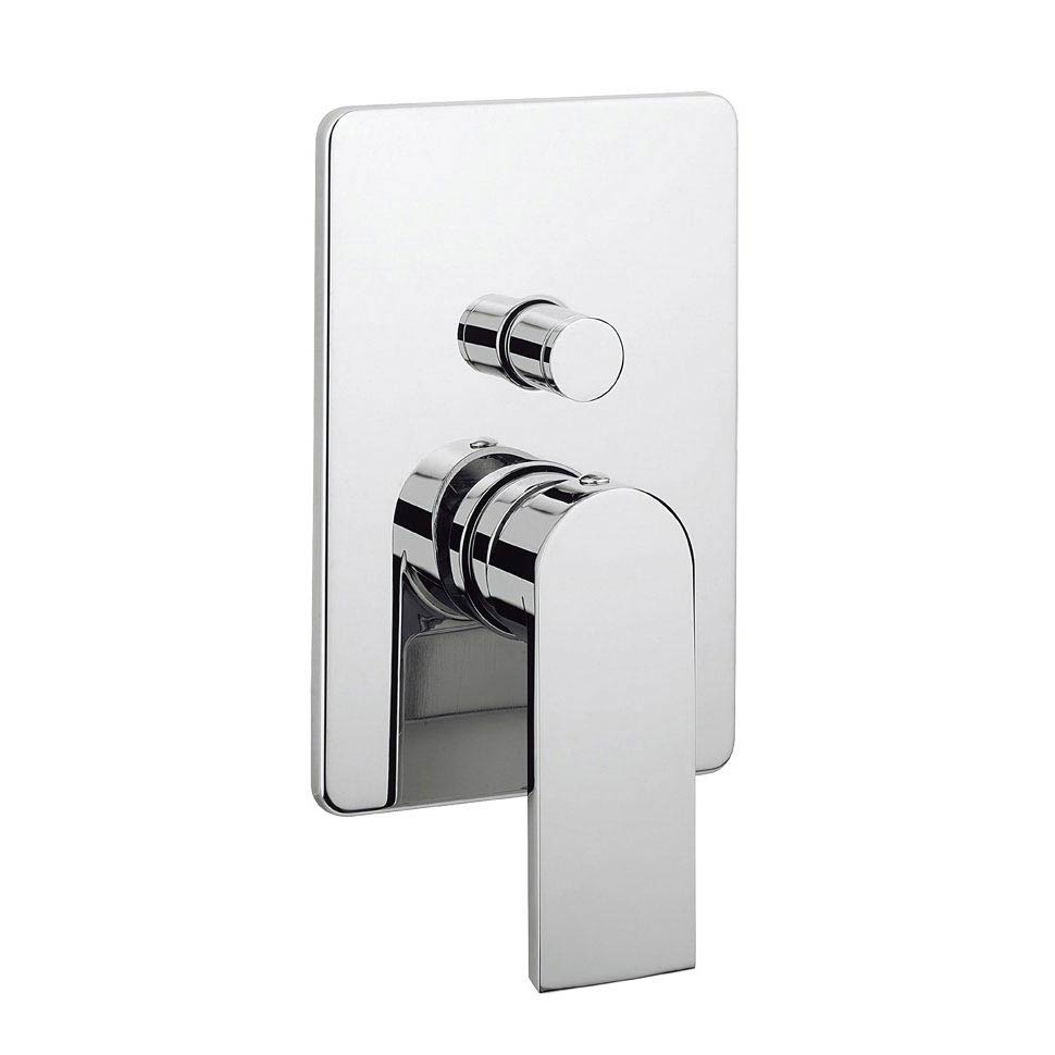 Crosswater KH Zero 3 Concealed Manual Shower Valve with Diverter - KH03_0005RC Large Image