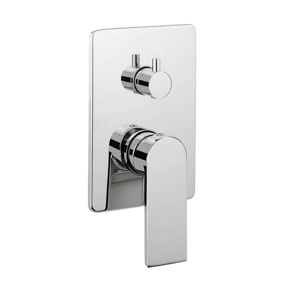 Crosswater KH Zero 3 Concealed Manual Shower Valve with 3 Way Diverter - KH03_0006RC Large Image