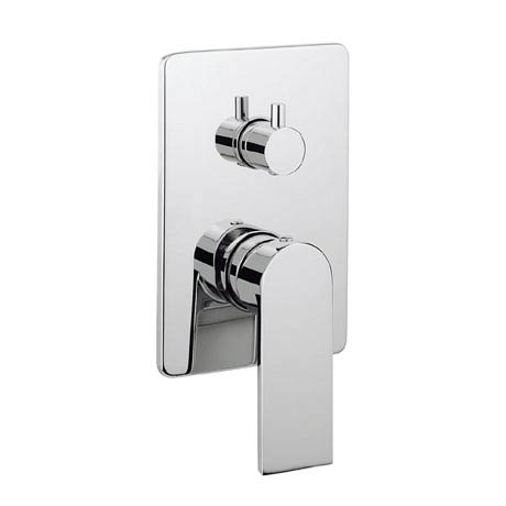 Crosswater KH Zero 3 Concealed Manual Shower Valve with 3 Way Diverter - KH03_0006RC