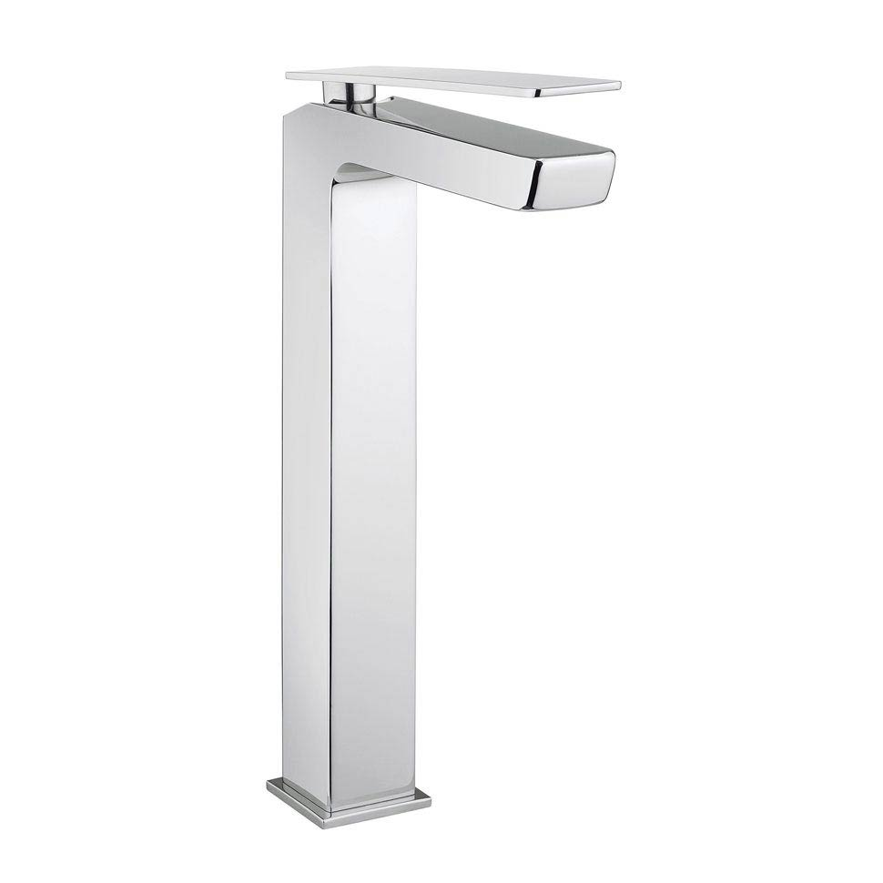 Crosswater KH Zero 3 Tall Monobloc Basin Mixer - KH03_112DNC profile large image view 1