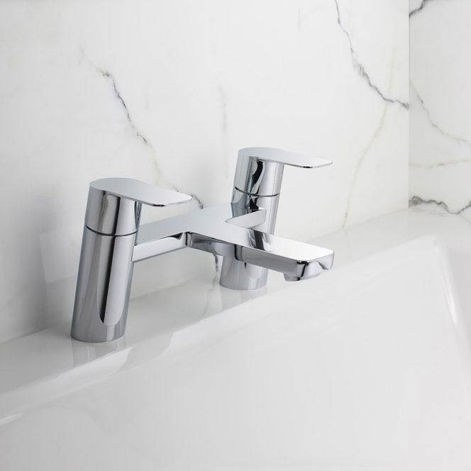 Crosswater KH Zero 6 Bath Filler - KH06_322DC profile large image view 2