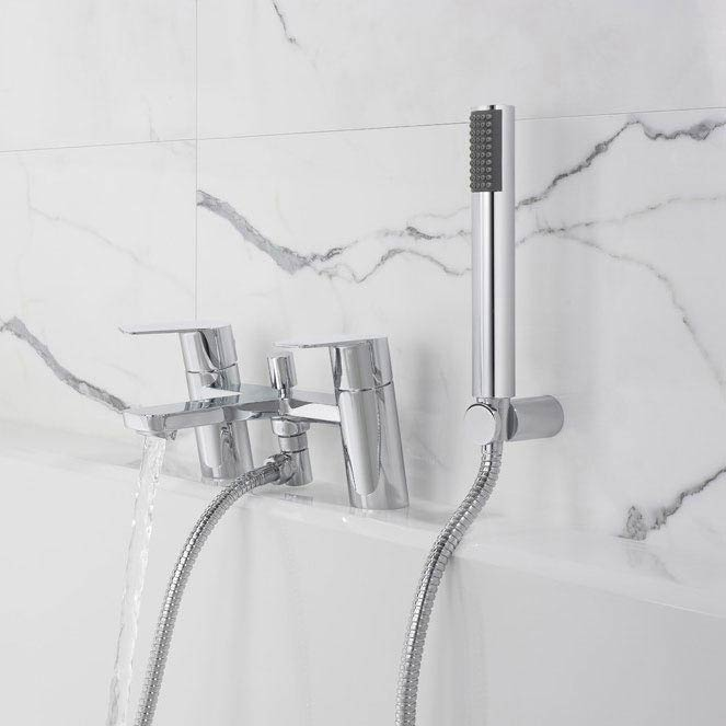Crosswater KH Zero 6 Bath Shower Mixer with Kit - KH06_422DC Profile Large Image