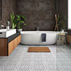 Kingsbridge Silver Patterned Wall and Floor Tiles - 330 x 330mm Small Image