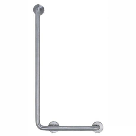 Bristan - Stainless Steel L-Shaped Grab Rail - KIT-GB