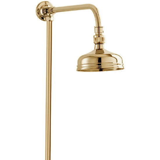 Deva Traditional Shower Kit with 5 inch Shower Rose - Gold Large Image