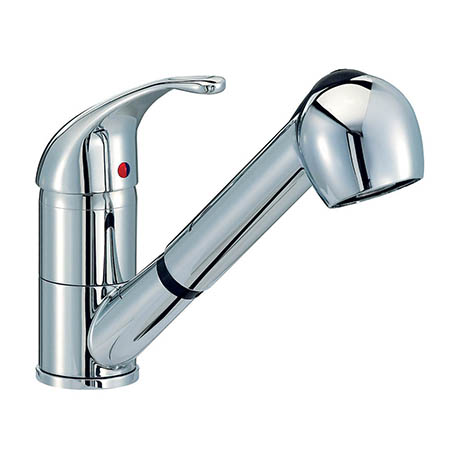 Mayfair - Titan Mono Kitchen Tap with Pull Out Tap Head - KIT007