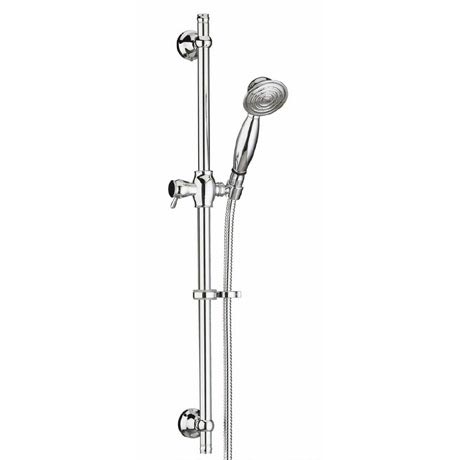 Bristan - Traditional Shower Kit with Adjustable Riser and Single Function Handset - KIT106-C