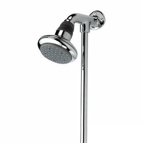 Bristan - Rigid Riser with Fixed Shower Head - KIT115-C Large Image