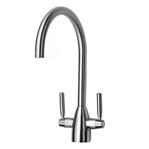 Mayfair - Rhumba Mono Kitchen Tap - Brushed Nickel - KIT149 Medium Image